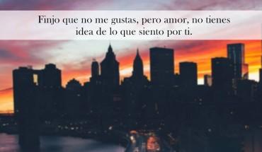 Finjo Que No Me Gustas Pero Amor…