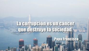 La Corrupción Es Un Cáncer Que Destruye La Sociedad