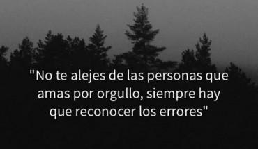No Te Alejes De Las Personas Que Amas