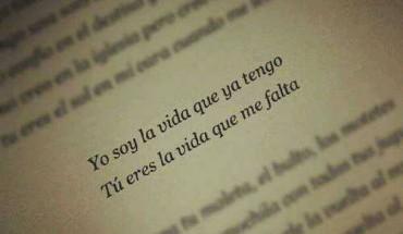 Tu Eres La Vida Que Me Falta