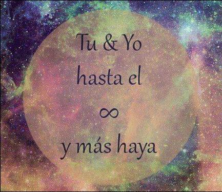 Tu Y Yo Hasta El Infinito Frasespw