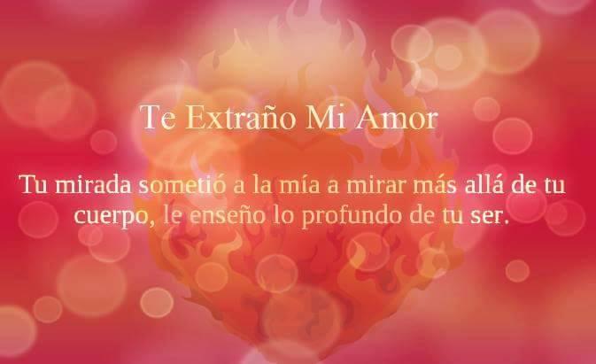 Te Extrano Mi Amor Frases Pw