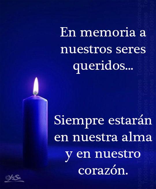 En memoria a nuestros seres queridos... Siempre estarán en nuestra alma y en nuestro corazón