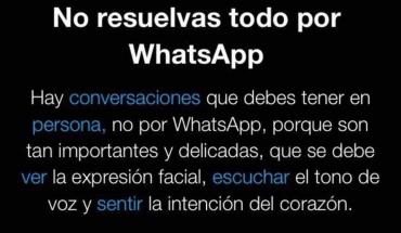 No resuelvas todo por WhatsApp Hay conversaciones que debes tener en persona
