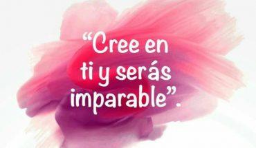 Cree en ti y serás imparable