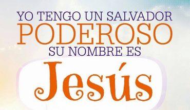 Yo tengo un salvador poderoso su nombre es Jesús