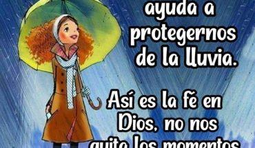 Un paraguas no va a detener la tormenta pero si nos ayuda a protegernos de la lluvia