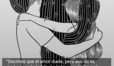 El amor nunca duele y si lo hace no es amor