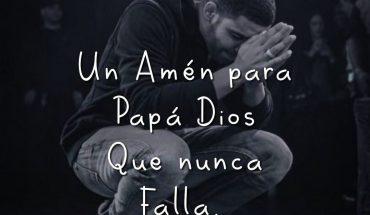 Un Amén para papá Dios que nunca falla