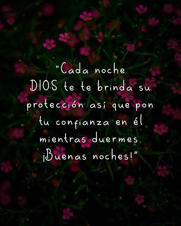Cada noche Dios te brinda su protección así que pon tu confianza en él mientras duermes
