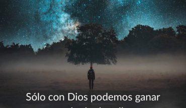 Solo con Dios podemos ganar cualquier batalla. Seamos obedientes a Él