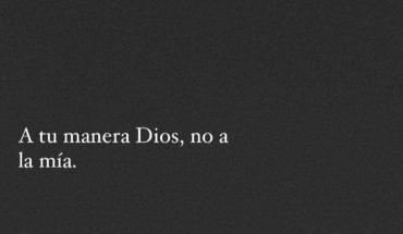 A tu manera Dios, no a la mía