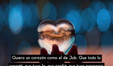 Quiero un corazón como el de Job