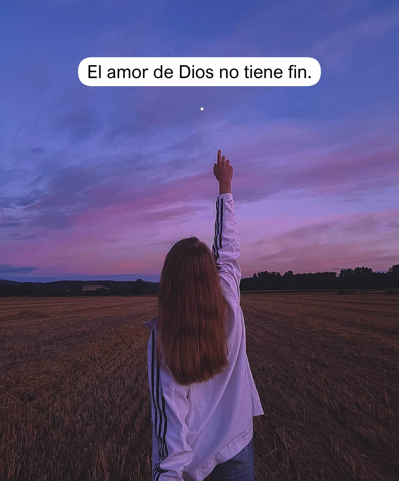 El amor de Dios no tiene fin
