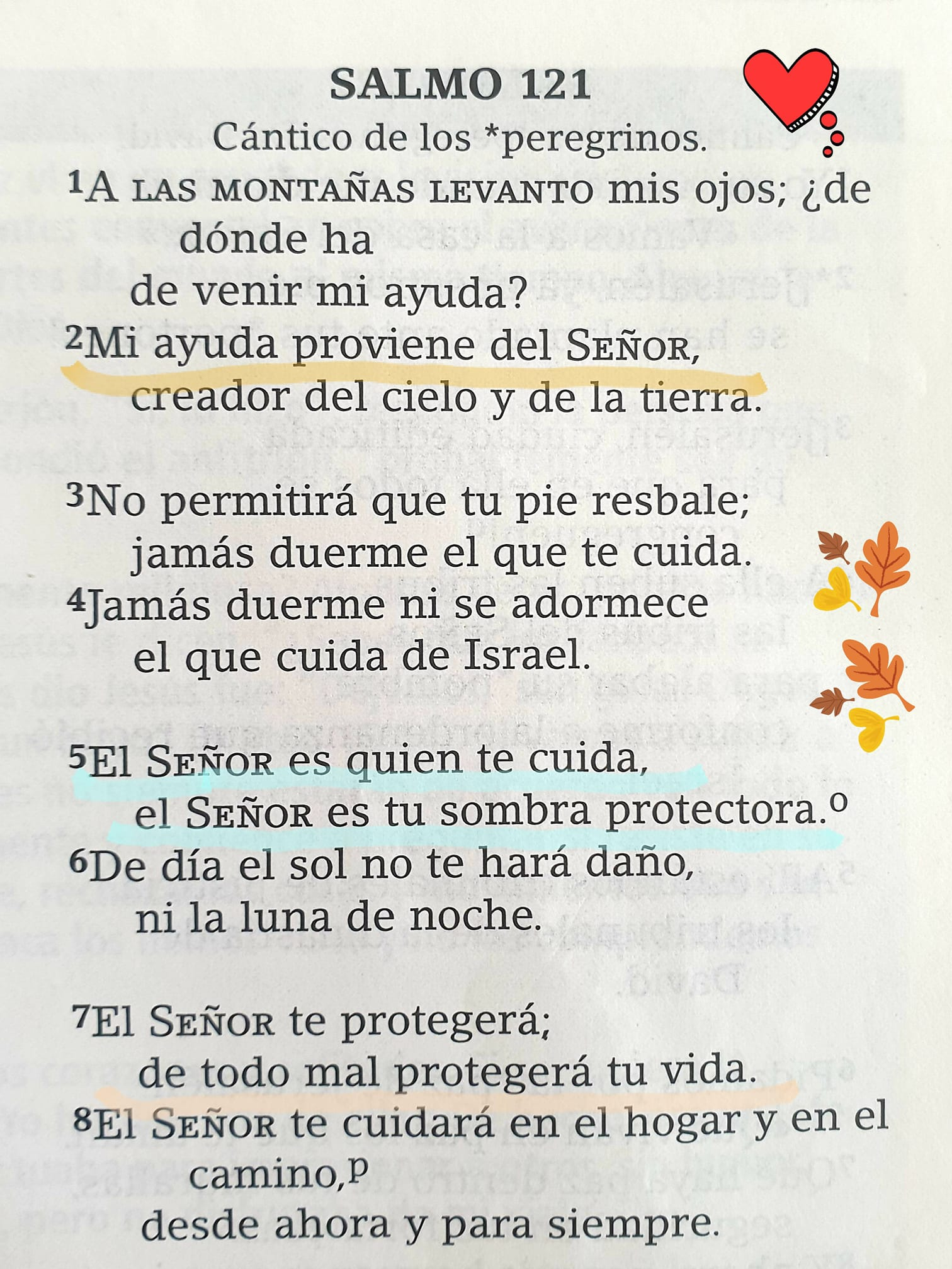 Salmo 121 Cantico de los peregrinos