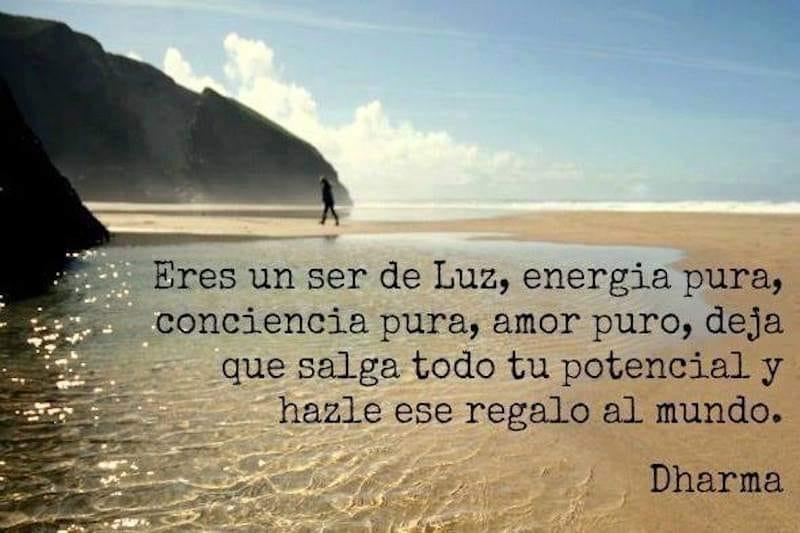 Eres un ser de luz, energía pura, conciencia pura, amor puro